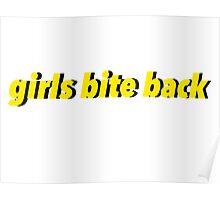 Girls Bite Back Poster