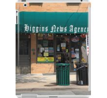Flemington, NJ - News Shop iPad Case/Skin