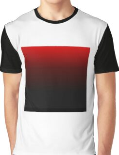 Black and red gradient Graphic T-Shirt