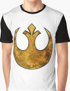 Rebel Alliance Tierfon Yellow Aces starbird Graphic T-Shirt