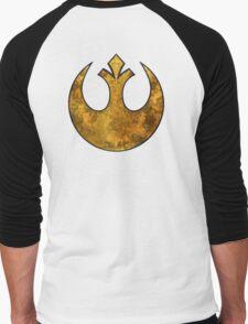 Rebel Alliance Tierfon Yellow Aces starbird Men's Baseball ¾ T-Shirt