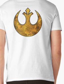 Rebel Alliance Tierfon Yellow Aces starbird Mens V-Neck T-Shirt