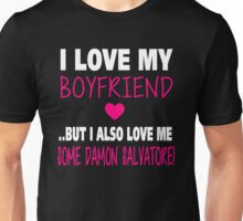 Love Me Some Damon Salvatore Unisex T-Shirt