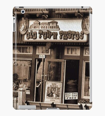 """""""Gatlinburg, Tennessee Series, #5... 'The Old Timey Photo Shop, 3rd Picture'""""... prints and products   iPad Case/Skin"""