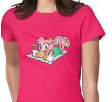 Amy Rose - Sonic Womens Fitted T-Shirt