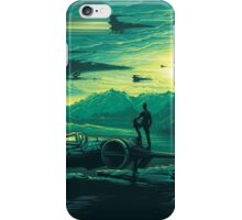 Star Wars VII - Poe Starship iPhone Case/Skin