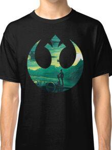 Star Wars VII - Poe Starship Classic T-Shirt