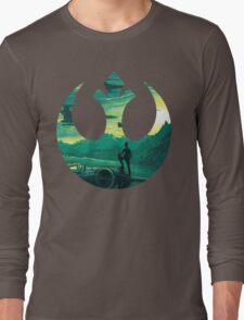 Star Wars VII - Poe Starship Long Sleeve T-Shirt