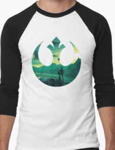 Star Wars VII - Poe Starship Men's Baseball ¾ T-Shirt
