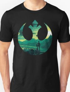 Star Wars VII - Poe Starship T-Shirt