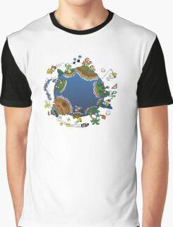 Super Mario World Graphic T-Shirt