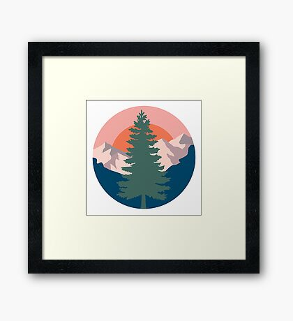 Go Outside Framed Print