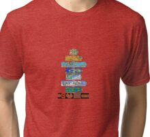 Super Mario Bros. 3 Tri-blend T-Shirt
