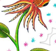 Squid Rose Sticker