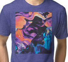Mixed Oil paints Art Tri-blend T-Shirt