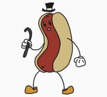 Vaudeville Hot Dog One Piece - Short Sleeve