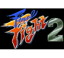 Final Fight 2 (SNES Title Screen) Photographic Print