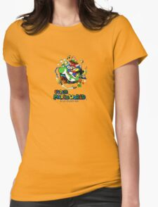 Super Mario World  Womens Fitted T-Shirt