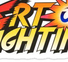 Art of Fighting SNK Sticker