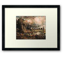 Salisbury Cathedral  Framed Print