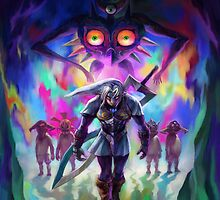 Legend of zelda by ravenandkuba