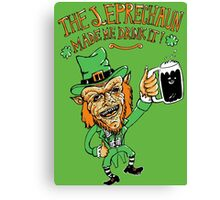 The leprechaun Canvas Print