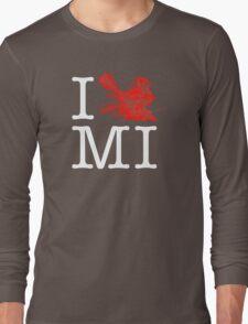 I Crank MI Long Sleeve T-Shirt
