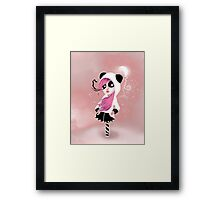 The physical feeling caused by something that hurts my heart. Framed Print