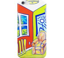 When Chairs Were Chairs  iPhone Case/Skin