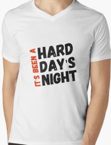 Hard Day's Night  Mens V-Neck T-Shirt