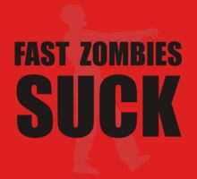 Fast Zombies Baby Tee