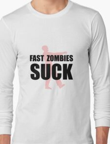 Fast Zombies Long Sleeve T-Shirt