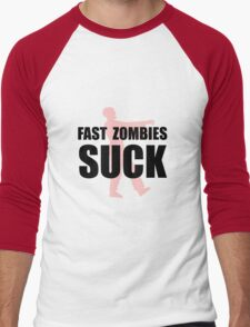 Fast Zombies Men's Baseball ¾ T-Shirt