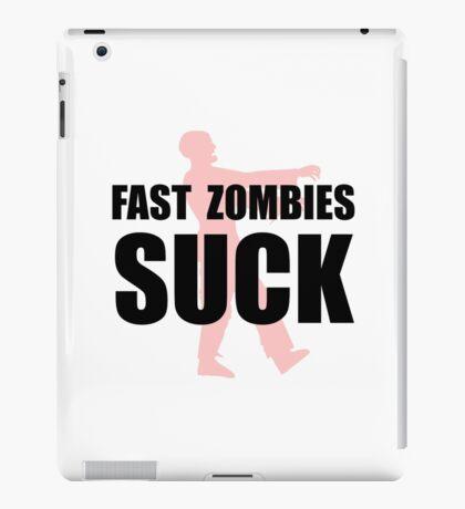 Fast Zombies iPad Case/Skin