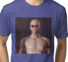 A VERY Blurry Picture of Deacon Tri-blend T-Shirt