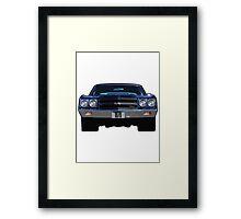 1970 Chevy Chevelle Framed Print