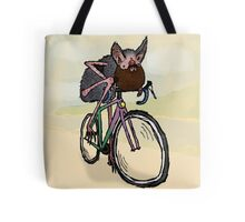 Bearded bat-man - Bike ride Tote Bag