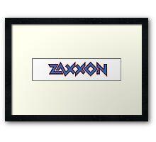 Zaxxon Sega Framed Print