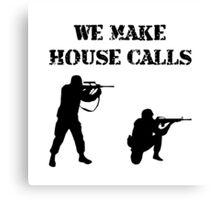 House Calls Canvas Print
