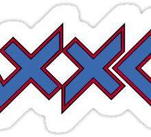 Zaxxon Sega Sticker