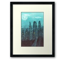 To The City Framed Print