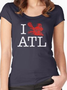 I Crank ATL Women's Fitted Scoop T-Shirt