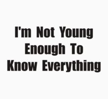 Know Everything Kids Tee