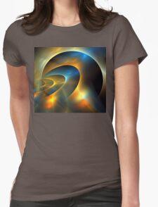 Circumbinary Womens Fitted T-Shirt