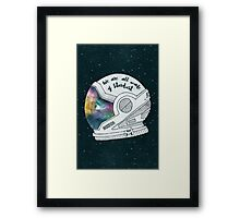 We Are All Made Of Stardust Framed Print