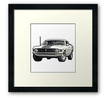 1970 Ford Mustang Framed Print
