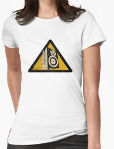 Loud Womens Fitted T-Shirt