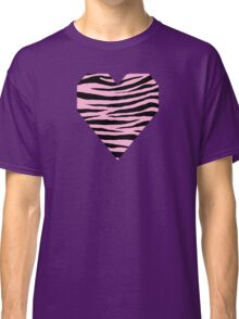 0351 Lavender Pink Tiger Classic T-Shirt
