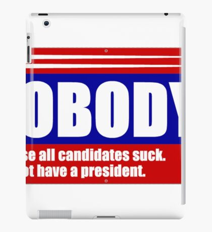 Presidential election 2016 iPad Case/Skin