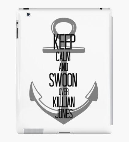 Keep Calm And Swoon Over Killian Jones iPad Case/Skin